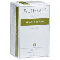 Althaus зеленый чай Sencha Senpai, 20 пакетиков