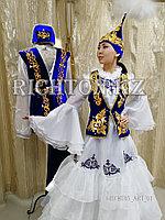 Пошив женских казахских костюмов