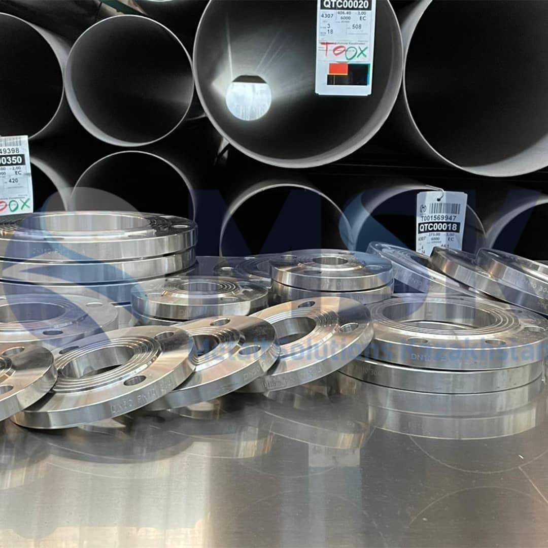 Фланцы воротниковые нержавеющие сталь 12Х18Н10Т, ГОСТ 33259-2015
