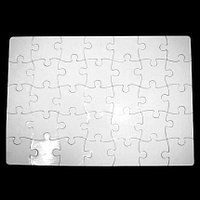 Пазл для сублимации, прямоугольный. 30 элементов.