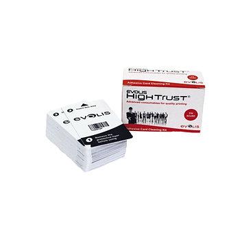 Комплект чистки для карт принтеров Evolis ACL003,  (50 шт клейких карт)
