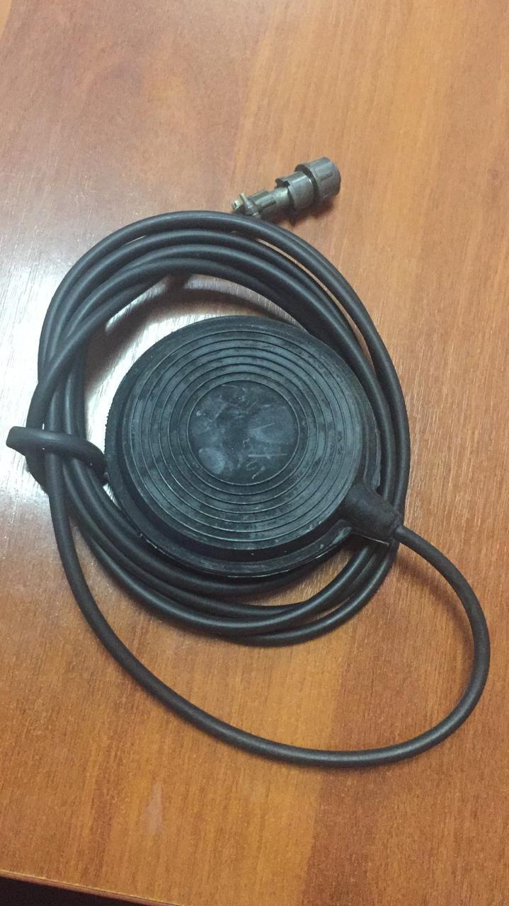 Педаль дистанционного управления на отсос ОМ-1
