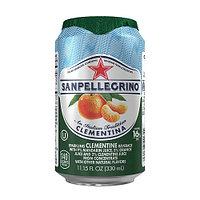 San Pellegrino сокосодержащий напиток Clementina 0,33 л, 24 шт