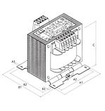 Однофазный разделительный трансформатор, фото 3