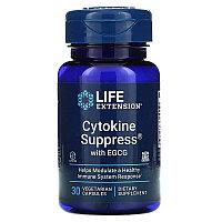 Life Extension, Цитокин с ЭГКГ, 30 растительных капсул