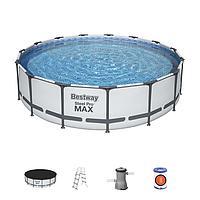 "Каркасный бассейн Bestway 56488 ""Steel Pro Max"" размер 457х107 см"