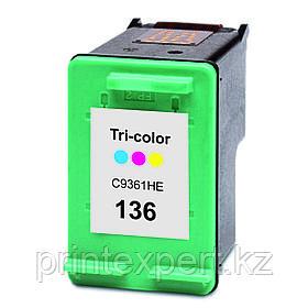 Картридж 136 Tri-color