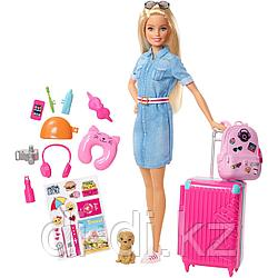 "Mattel Barbie Барби ""Путешествия"" FWV25"