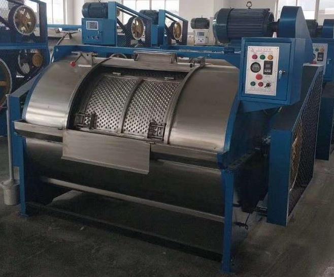 Моечная машина для мойки шерсти и текстильных изделий с  производительность 50 кг в час