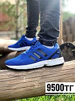Кросс adidas zx flux син