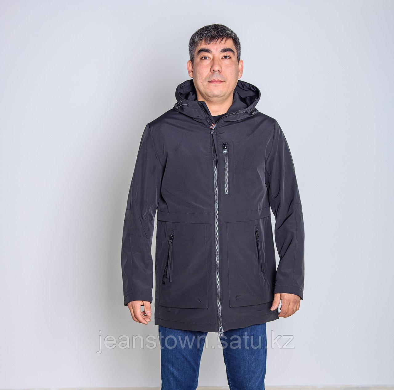 Куртка мужская демисезонная Kings Wind черная - фото 1