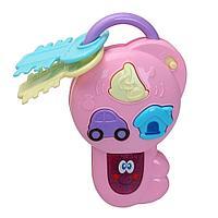 PITUSO Развивающая игрушка ВОЛШЕБНЫЙ КЛЮЧ розовый, свет, звук 20*9*4 см в кор 108 шт
