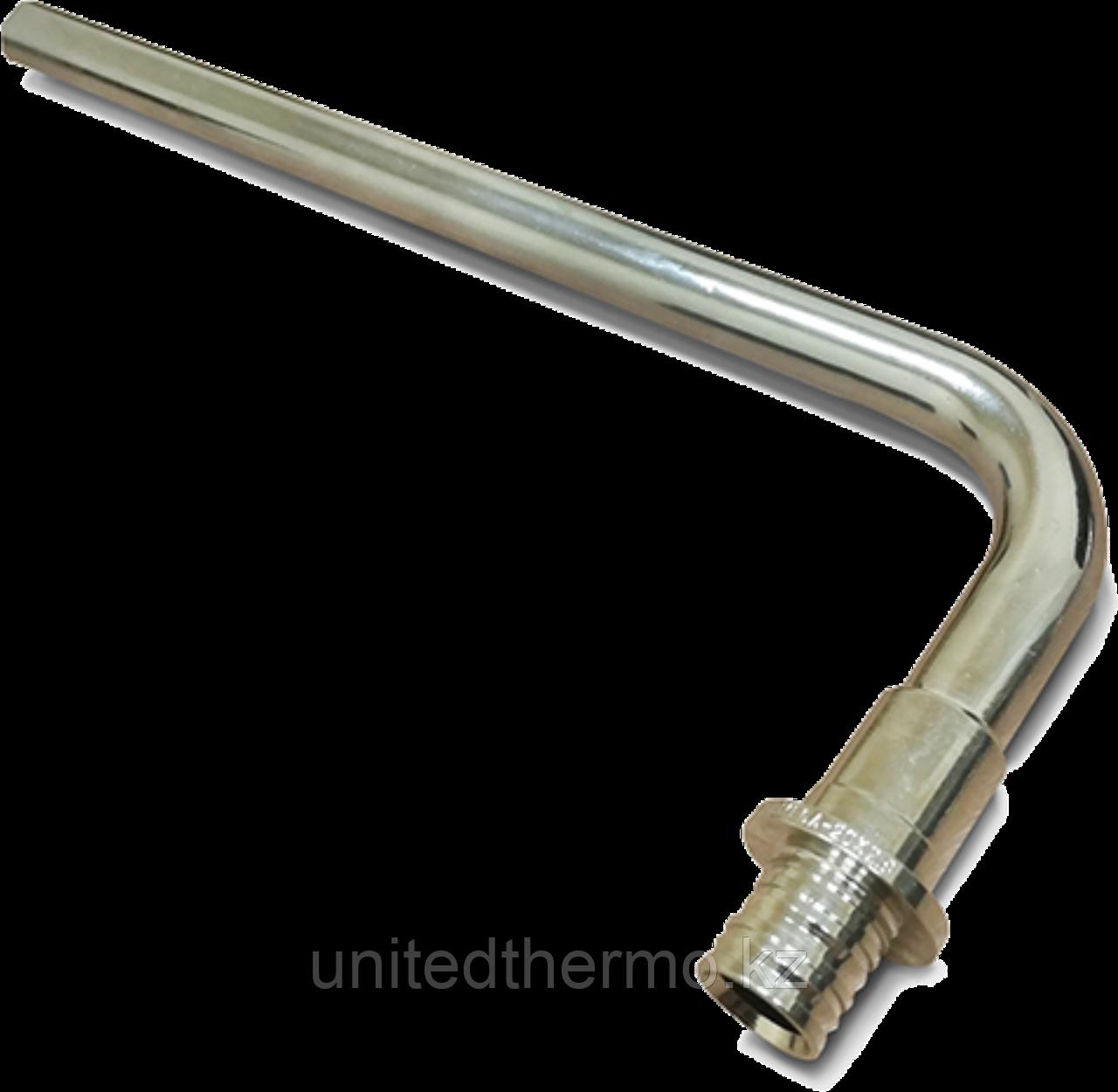 Г-образная трубка d16/250 Varmega Slide-Fit, для подключения радиатора