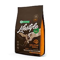 456878 NP LifeStyle Junior Salmon Krill, корм для щенков всех пород, лосось и криль, уп.10 кг.