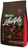 456779 Nature s Protection LifeStyle Adult All Bread, корм для взрослых собак всех пород с лососем, уп.1.5 кг.