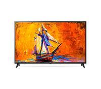 Телевизор LG 43UN74006LA, черный