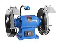 Станок точильный ЗУБР ЗТШМЭ-250-750, ЭКСПЕРТ двойной, лампа подсветки, диск 250 х 25 х 32 мм, 750 Вт