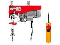 Тельфер электрический (электротельфер) ЗУБР ЗЭТ-500, 500/250 кг, 900 Вт