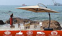Зонт садовый Sanremo Lux (3.5х3.5) с подставкой (Доставка+Установка)