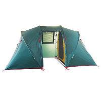 Палатка BTrace Tube 4 Big green/beige