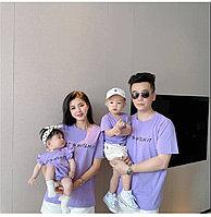 Красивые одинаковые футболки для всей семьи!(цена  за взрослую футболку)