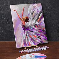 Картина по номерам на холсте с подрамником «Балет» 40х50 см