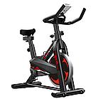 Велотренажер SpinBike (черный) AF-6105, фото 2