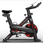 Велотренажер SpinBike (черный) AF-6105, фото 4