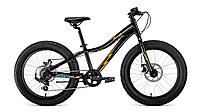 """Велосипед BIZON MICRO 20  (20"""" 7ск рост 11'') черный/желтый"""