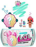 Кукла-сюрприз в ракушке L.O.L. Pearl Surprise Жемчужная коллекция [реплика]