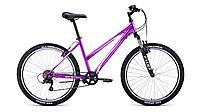 """Велосипед FORWARD IRIS 26 1.0 (26"""" 6 ск. рост 17"""") 2020-2021, фиолетовый, RBKW1M166007 /8712003000"""