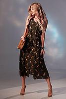 Женское летнее из вискозы зеленое платье Golden Valley 4736 зеленый 44р.