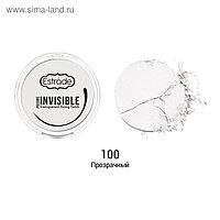 Пудра-финиш для лица Estrade Invisible, тон 100, прозрачный