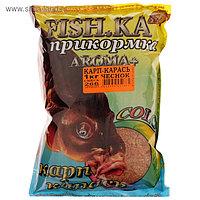 Прикормка Fish-ka карп/карась, чеснок, 1 кг