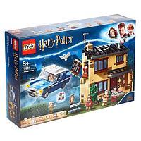 Конструктор Lego Harry Potter «Тисовая улица, дом 4»