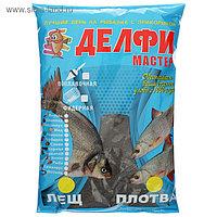 Прикормка Delfi «мастер», аромат карамель, плотва/лещ, цвет чёрный, вес 0,8 кг