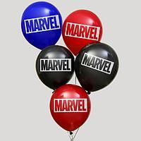 """Воздушные шары """"MARVEL"""", Мстители, (набор 5 шт)"""