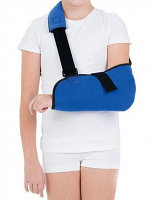 Бандаж фиксирующий поддерживающий для руки после травм детский XXS (Т- 8130)