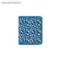 Папка для тетрадей и труда, 1 отделение, А5+, ErichKrause Cubes, пластик, на молнии
