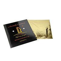 Поталь в книжке 14х14 см, 10 листов, Luxart Deco Potal, цвет золото светлое (24 карата) PL01V0010