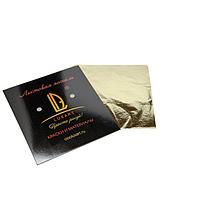 Поталь в книжке 14х14 см, 10 листов, Luxart Deco Potal, цвет золото античное (23 карата) PL02V0010