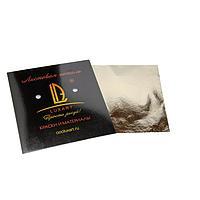Поталь в книжке 14х14 см, 30 листов, Luxart Deco Potal, цвет серебро античное PL05V0030