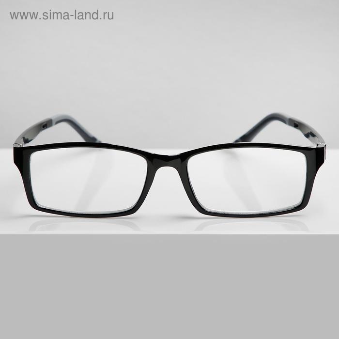Очки корригирующие В8986, цвет чёрный, -2 - фото 1