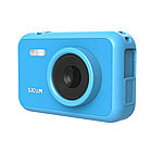 Экшн-камера, SJCAM, FunCam F1 Blue, 1080p, 30fps, MicroSD до 32 Гб, Процессор GPCV1247, Фото 12 МП