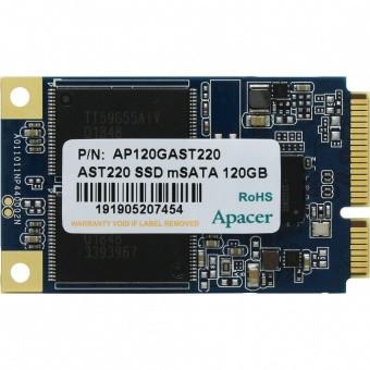 Твердотельный накопитель SSD mSATA Apacer AST220, 120 GB AP120GAST220-1