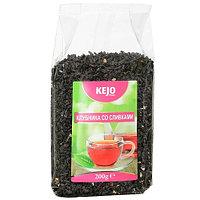 Kejo foods чай черный клубника со сливками, 200 гр.