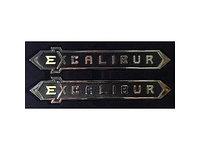Шильдик Excalibur на Land Cruiser 200 2016-21, фото 1
