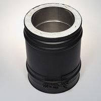 Элемент трубы Schiedel 250 мм д. 150 PM25 (Чер.) (Германия)