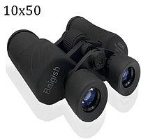 Бинокль с бинокулярный зумом и ночным виденьем тактический дальновидный до 1 000 м 10x50 HD BAK-4 Baigish