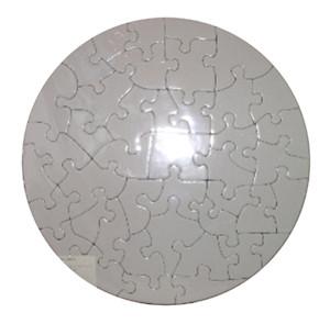 Пазл для сублимации/картон, круглый